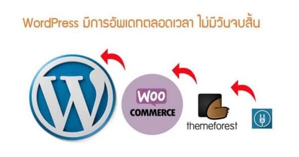 สร้างเว็บ WordPress